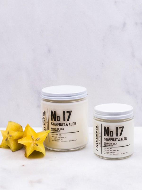 No. 17 – Starfruit & Aloe Soy Candle